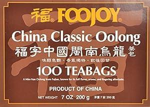 Foojoy China Classic Min-nan Oolong (Wulong) Tea, 2g X 100 Teabags, from Foojoy