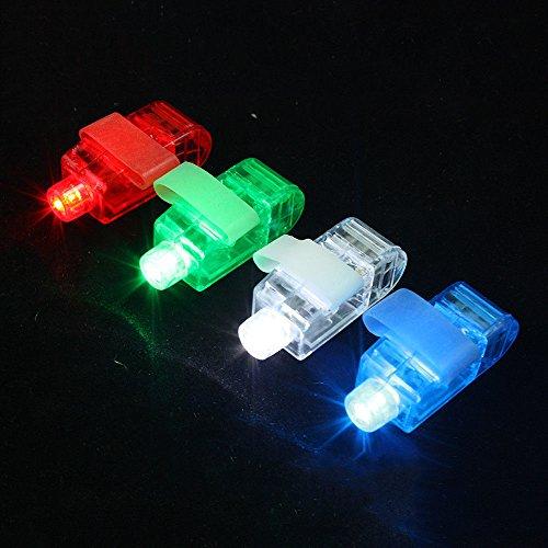 Tdltek Super Bright Led Finger Lights, 100 Pcs