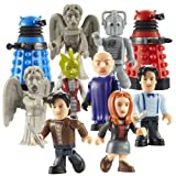Doctor Who Character Building - 3 x Single Micro Figure Foil Packs