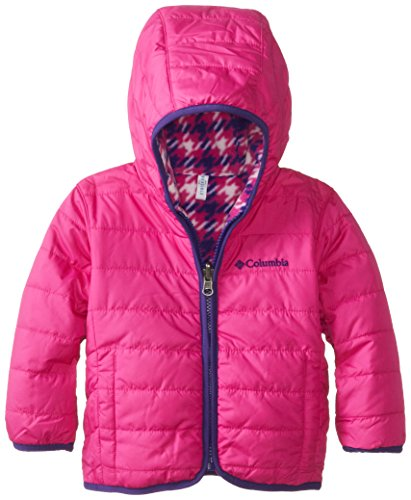 Columbia Baby-Girls Infant Double Trouble Jacket, Groovy Pink/Groovy Pink Print, 18-24 Months