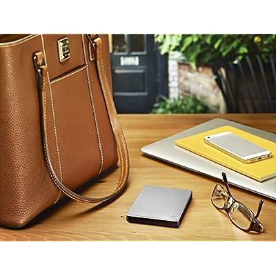 Seagate Slim 500 GB USB 3.0 Portable Hard Drive for Mac (STCF500102)