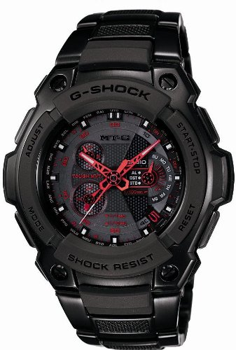 CASIO (カシオ) 腕時計 G-SHOCK MT-G TOUGH MVT タフムーブメント タフソーラー 電波時計 MULTIBAND 6 MTG-1100B-1AJF メンズ