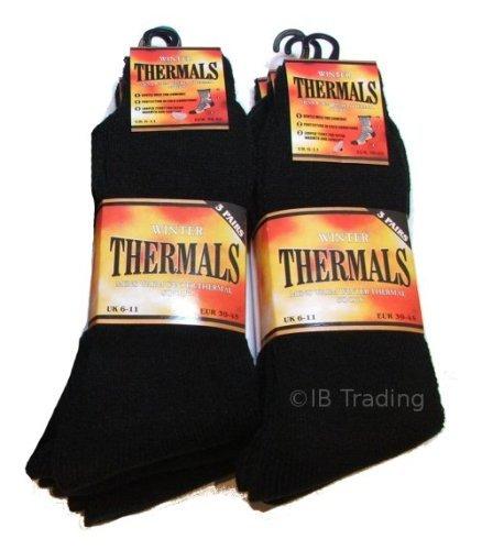 6 Mens Thermal Winter Socks