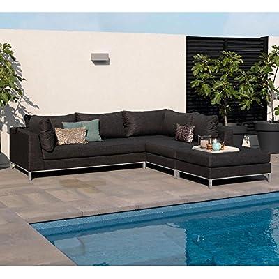 Exotan® Casablanca Lounge Hocker / Tisch - Wetterfest: Texfabric® + Aluminium Farbe WÄhlbar! von EXOTAN® bei Gartenmöbel von Du und Dein Garten