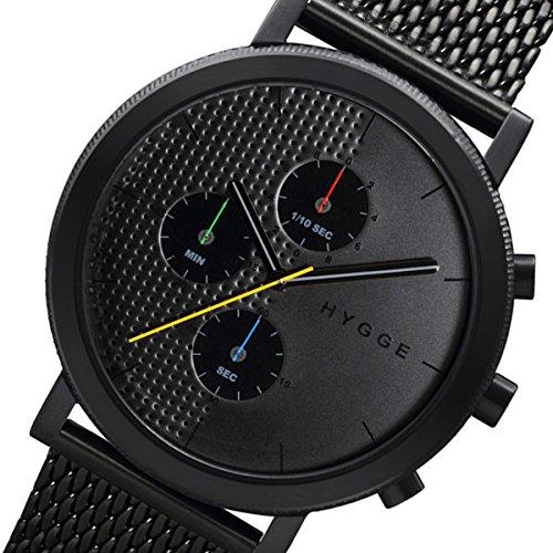 ピーオーエス POS ヒュッゲ HYGGE MSM2204BC メンズ 腕時計 HGE020005 ブラック [並行輸入品] 腕時計 国内