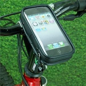 Light-weight Waterproof Bike Cycle Head Stem Mount for Apple iPhone 5 / 5S / 5C