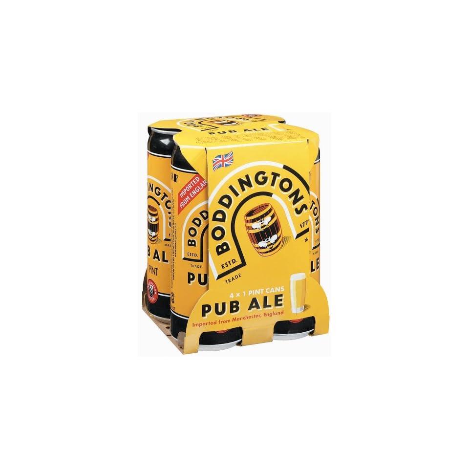 Boddingtons Pub Ale 4 Pack Cans
