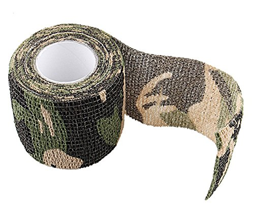 SaySure-45m-Roll-CamoStretch-Bandage-Camping-Hunting