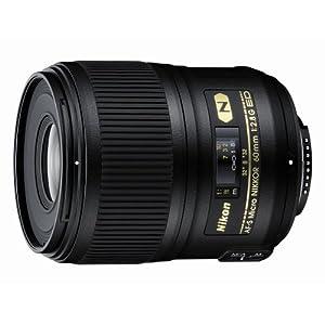 Nikon 60mm f/2.8G ED AF-S Micro-Nikkor Lens for Nikon DSLR Cameras