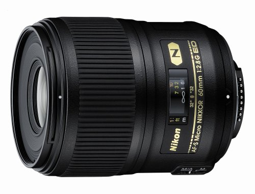 Nikon 60mm f/2.8G ED AF-S Micro-Nikkor Lens for