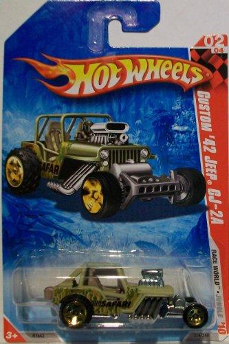 2010 Hot Wheels Custom '42 Jeep CJ-2A 214/240