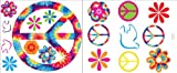 Komar VL0500 Brewster Tie Dye Peace Stickers