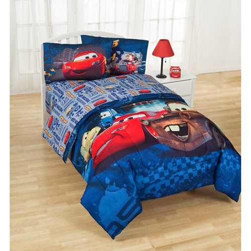 disney pixar cars mater twin comforter sheet set 4 piece bedding
