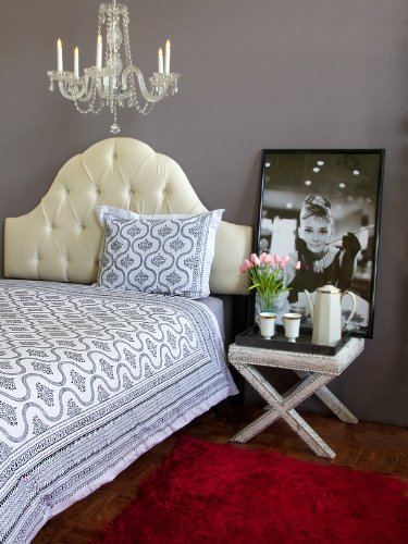 Black And White Vintage Bedding front-825179