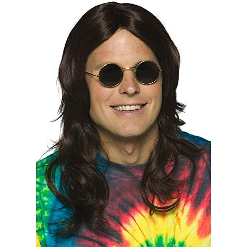 Adult's Hippie Guy Halloween Costume Wig