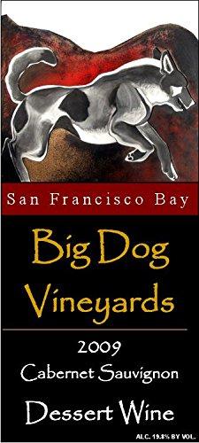 2009 Big Dog Vineyards Cabernet Sauvignon Dessert Wine (Port Style) 375 Ml