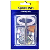 Korbond Mini Sewing Kit includes 13 Essentials & Storage Box