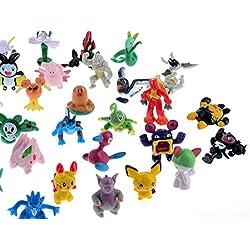 72 figuras de Pokemon (2-3 cm)