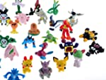Cute 2-3 CM Pokemon Mini Figures Toy...