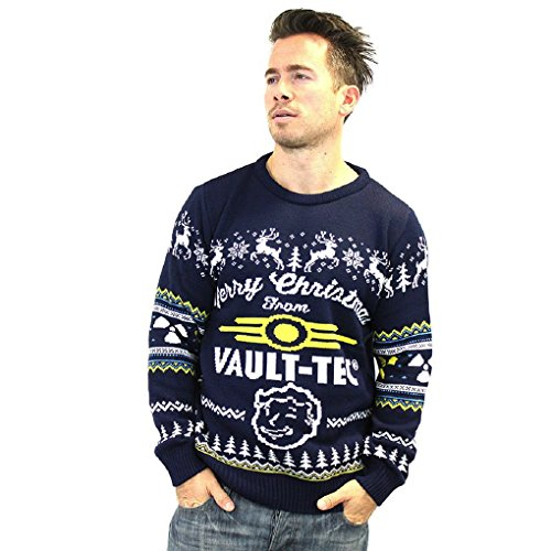 Official Fallout 4 Vault Tec Christmas Jumper (M)