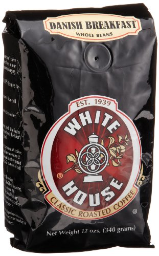 Best Price White Coffee Roasted Coffee Danish Breakfast Whole Bean 12-Ounce Bags Pack of 3B001D1UW58