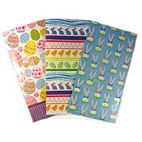 Paper Easter Goody Treat Bags, Assortment Of 12