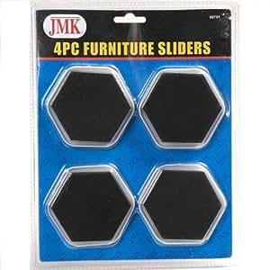 20 pack wholesale lot furniture sliders carpet and floor scratch protector. Black Bedroom Furniture Sets. Home Design Ideas