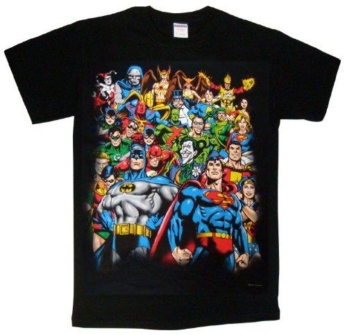 【DCコミックス】 オールスターTシャツ【ブラック】B