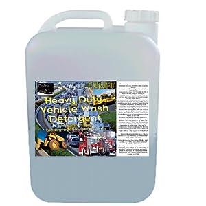 Heavy Duty Vehicle Wash Detergent - 5 gallon PAK with Spigot