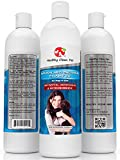 Medicated Dog Shampoo 100% Natural -Antifungal Helps Relieve Skin Infections, Scaly, Itchy & Irritations - Antibacterial Shampoo for Dogs and Cats, 16 oz -by Healthy Clean Pet
