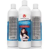 Medicated Dog Shampoo 100% Natural -Antifungal Helps Relieve Skin Infections, Scaly, Itchy & Irritations - Antibacterial...