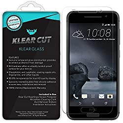 Klear Cut KlearGlass - 9H Hardness Tempered Glass Screen Protector for HTC One A9 / Aero with Lifetime Replacements / 99.9% HD Clear / Shatterproof and Anti-Bubble Ballistic Glass
