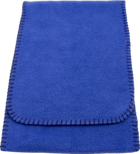 Simplicity 4X Men'S / Women'S Cold Weather, Long Fleece Scarf, Royal front-836299