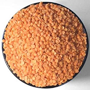 Spicy World Masoor Dal Indian Red Lentils 4 Pounds by Spicy World