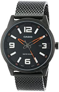 Casio Men's MTP-1351BD-1A2DF Core Collection Big Face Analog Watch