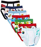 Disney Pixar Toddler boys 7 Pair Brief Multi-Character Pack