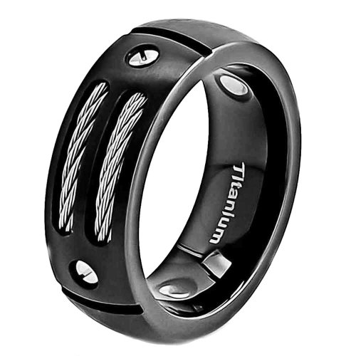 Jewels By Lux Sterling Silver Mens 7mm-SZ12 Flat Comfort-fit Wedding Band Ring Ring Size 12