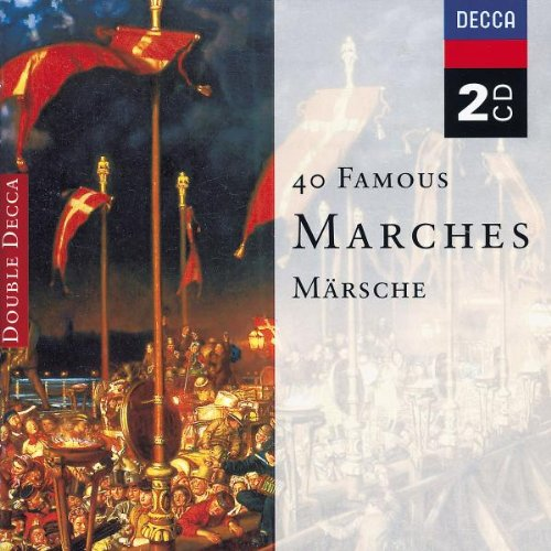 40 Famous Marches by Edward Elgar,&#32;Jean Sibelius,&#32;Johann II [Junior] Strauss,&#32;Charles Gounod and Richard [Classical] Wagner