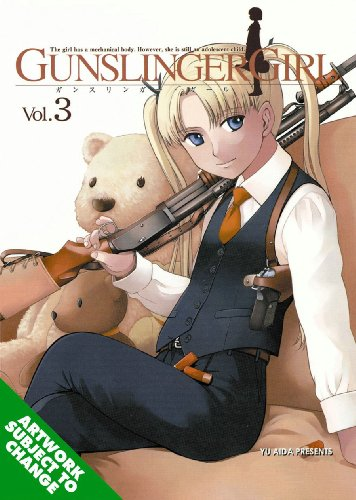 GUNSLINGER GIRL 3巻(英語版)