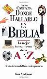Donde Hallarlo en la Biblia edición compacta (Spanish Edition) (0899226639) by Anderson, Ken
