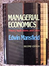Managerial Economics by Edwin Mansfield
