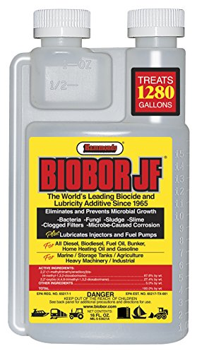 Hammonds Biobor JF Diesel Fuel Treatment (Clear, 16-Ounce/Small)