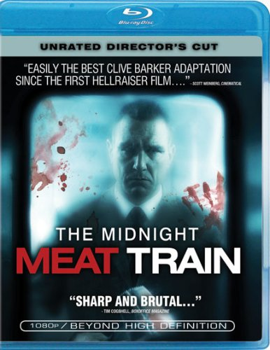 Midnight Meat Train pulls into the home video station : Blu-ray Review