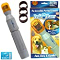 """Pedi Paws Cat Dog Grooming Set - Battery Powered - 2 X """"c"""" Batteries Required"""