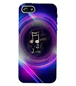 PRINTVISA Quotes Music Case Cover for Apple iPhone 4S