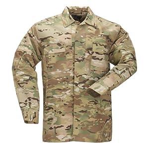 5.11 #72013 TDU Long Sleeve Shirt (Multicam) by 5.11
