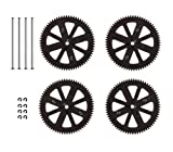Parrot AR.Drone 2.0 Gears With Shafts and Circlips Set (Pack of 4)