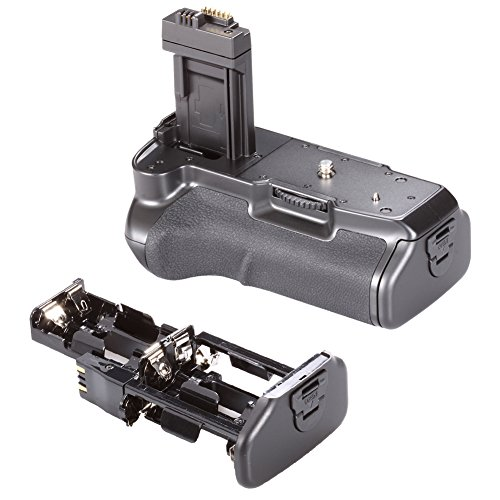 NEEWER® Professional Battery Grip BG-E5 Replacement Works with LP-E5 Battery + AA Battery Grip Holder + Li-ion Battery Grip Holder for Canon EOS 450D 500D 1000D Rebel XS XSi T1i (Canon Xsi Battery Grip compare prices)