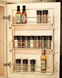 Rev-A-Shelf in. Door Mount Spice Rack RS4SR.21 15.63