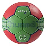 Hummel Handball 1.5 Arena - Pelota de balonmano, color rojo, verde, talla 2